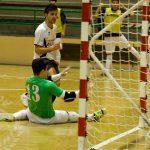 David en el momento de marcar gol